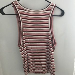 American Eagle Outfitters Tops - Stripped AEO Tank